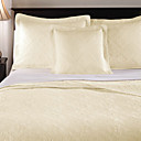 Turkie 3pc bedspread set (white)