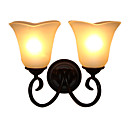 Upward 2-lightGlass Wall Sconce