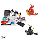 Professional Tattoo  Kit with cast-iron machine and LCD power