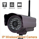 camra de scurit IP (impermable  l'eau, la vision wifi nuit,)