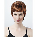 Capless Short High Quality Synthetic Brown Curly Hair Wig 0463-450