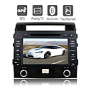 8 inch Digital Touch Screen Car DVD Player-GPS-TV-FM-Bluetooth For 2009 Toyota Land Cruiser