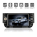 5,6 pulgadas 1DIN coches reproductor de DVD con GPS bluetooth RDS