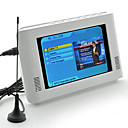 7-inch mobiele DVB-T digitale TV met digitale tv-opname en afstandsbediening