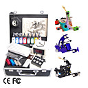 Pro Tattoo Kit with 3 Guns and LCD Power 8 Ink