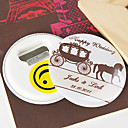 Personalized Bottle Opener/Fridge Magnet - Carriage (set of 12)