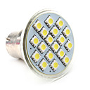 B22 18-5050 SMD 3W 110-130LM 6000-6500K Natural White Light LED Spot Bulb (110V)