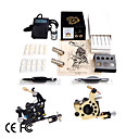 Professional Tattoo Kits With 2 Machines For Lining And Shading