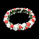Lovely Foam Flower Wedding Flower Girl Wreath/ Headpiece