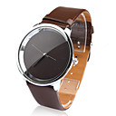 PU Band Quartz Wrist Watch For Women(Coffee)