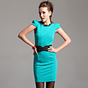 TS Elevated Shoulder Bodycon Dress