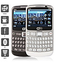 sentinela - quatro sim celular teclado qwerty (wifi, bluetooth, tv)