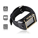 W08 - 1.5 Inch Watch Cell Phone Black-gold (QuadBand Water Proof)