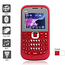 Four SIM 2.0 Inch Qwerty Keyboard Cell Phone (Dual Camera JAVA FM TV)