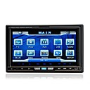 7 Inch 2Din Car DVD Player with GPS IPOD Bluetooth  RDS