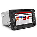 7 pollici per auto volkswagen pc lettore dvd con gps ipod dvb-t wifi/3g