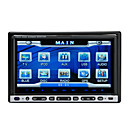 7 Inch 2Din Car DVD Player with TV GPS IPOD Bluetooth  RDS
