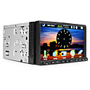 7 Inch Digital Touchscreen 2Din Car DVD Player with GPS Bluetooth DVB-T RDS
