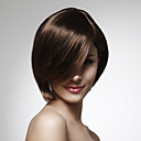 Capless 100% Human Hair Short Bob Style Straight Wig 5 Colors To Choose