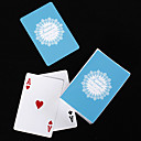 Personalized Playing Cards - Blue Lace