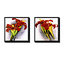 Floral Framed Canvas Print