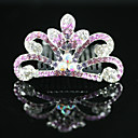  hermoso cz circonio cbico nia de las flores tiara / diadema ms colores disponibles