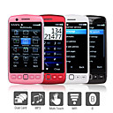 9860 - Four SIM 3.2 Inch Touch Screen Cell Phone (Wifi, GPS, TV, Bluetooth)