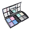 Soft Shimmer 8 Colors Makeup Eye Shadow with Free Brush