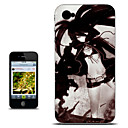 Black Rock Shooter Black Version Anime Case for iPhone 4/4s