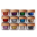 12 x Mix Colors Glitter UV Builder Gel Nail Art 8ml