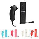 2-in-1 MotionPlus Remote Controller and Nunchuk for Wii/Wii U (Assorted Colors)