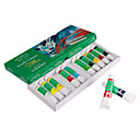 12 Colors Acrylic Paints Tube Box Set for Nail Art