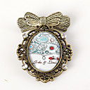 Personalized Old-fashion Handmade Brooch - Ladybug