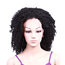 "Full Lace With Stretch On Crown Deep Wave 16"" Indian Remy Lace Wig 9 Colors To Choose"