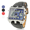 Double Movement Multi-function Sport Watch With Stop Watch