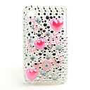 Protective Back Case with Crystals for iPhone 3G/3GS (I Love You)