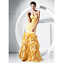 Trumpet/ Mermaid Sweetheart Floor-length Taffeta Evening Dress