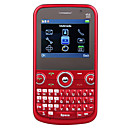 Redberry - Triple SIM 2.2 pulgadas teclado QWERTY del telfono celular (TV, FM, G-Sensor)