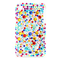 Protective Back Case with Crystals for iPhone 3G (Colorful)