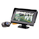 4,3-inch monitor met draadloze parking nachtzicht achteruitkijk camera