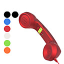 Retro Telephone Handset with Voice Control Button for iPhone and More