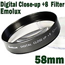 emolux 58mm close up (+8) filter
