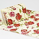 Leaves and Flowers Guest Towels (Set of 12 Packs)