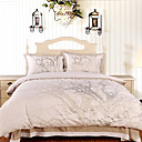 Silver Tree Full 4-piece Duvet Cover Set
