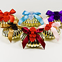 Shell Favor Holder With Bow And Chinese Knot (Set of 6)