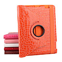 tui en cuir de crocodile rythme rotatif pour iPad2