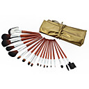 Professional Brush Set With Dark Lovely Pouch(18 Pcs)