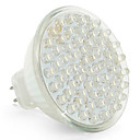 MR16 60-LED 4W 6000K White Light LED Spot Bulb (12V)