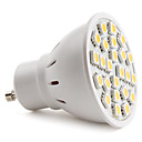 gu10 5050 SMD 24-LED warm wit 130-150lm gloeilamp (230 V, 3-3,5 W)