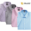 Wash And Wear Men's Short Sleeve Casual Shirts